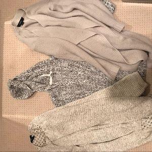 3 sweaters